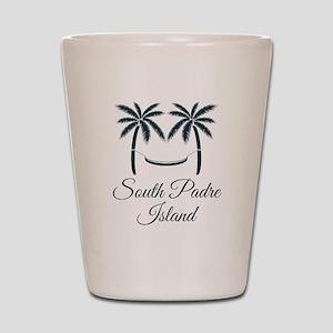 Palm Trees South Padre Island T-Shirt Shot Glass