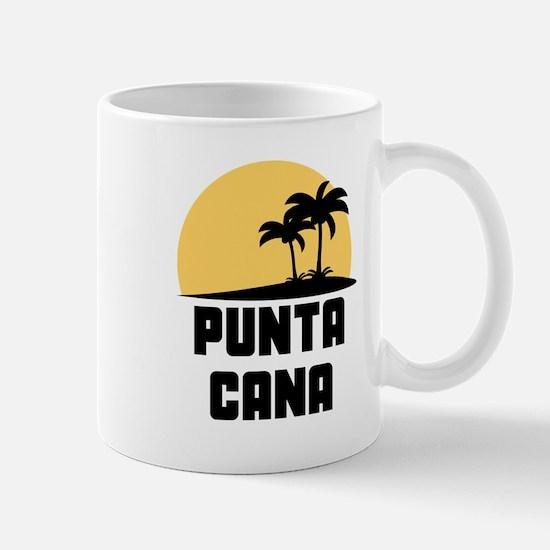 Palm Trees Punta Cana T-Shirt Mugs