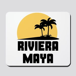 Palm Trees Riviera Maya T-Shirt Mousepad