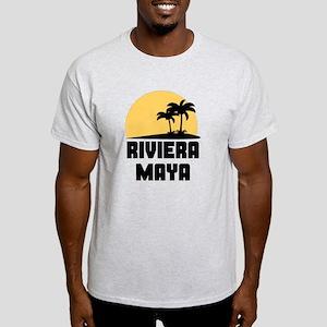 Palm Trees Riviera Maya T-Shirt T-Shirt