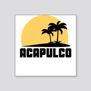 Palm Trees Acapulco T-Shirt Sticker