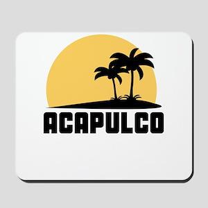 Palm Trees Acapulco T-Shirt Mousepad