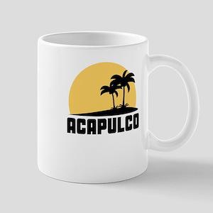 Palm Trees Acapulco T-Shirt Mugs
