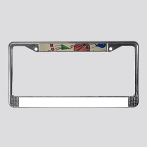 Tactics on the Passageway License Plate Frame