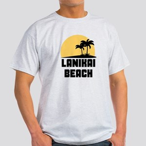 Palm Trees Lanikai Beach T-Shirt T-Shirt