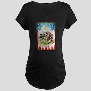 Patriotic U.S.A. Maternity T-Shirt