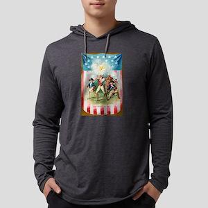 Patriotic U.S.A. Long Sleeve T-Shirt
