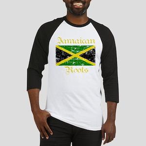 jamaicanrootsblack Baseball Jersey