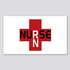 Nurse - RN Rectangle Sticker