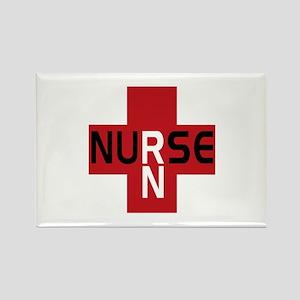 Nurse - RN Rectangle Magnet (10 pack)