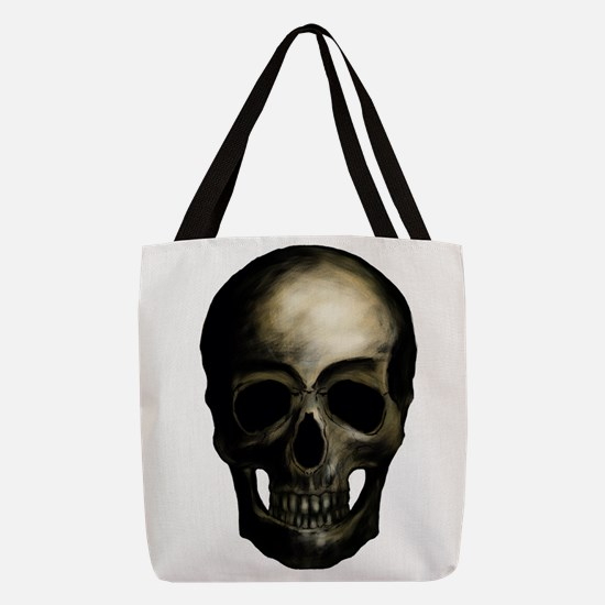 Pirate Skull Polyester Tote Bag
