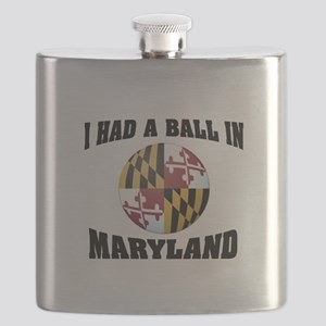 MARYLAND FUN Flask