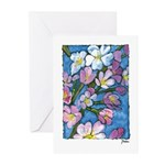 Cherry Blossom Greeting Cards (Pk of 10)