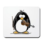 Violin Penguin Mousepad