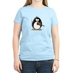 Violin Penguin Women's Light T-Shirt