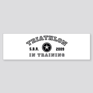 Triathlon - In Training Bumper Sticker