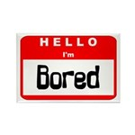 Hello I'm Bored Rectangle Magnet (10 pack)