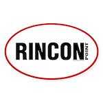 Rincon Point Oval Sticker