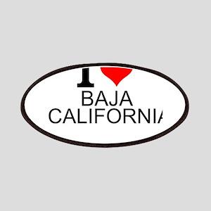 I Love Baja California Patch