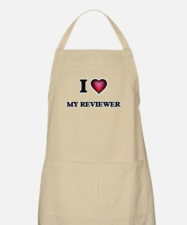 I Love My Reviewer Apron