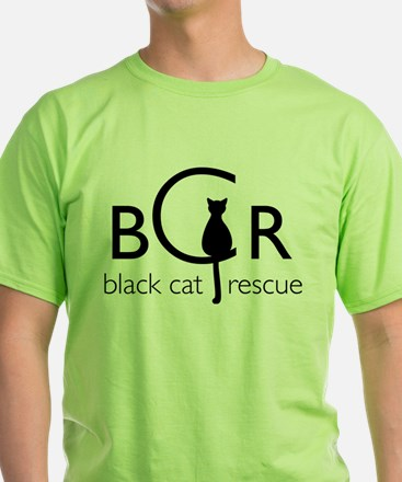 Black Cat Rescue T-Shirt