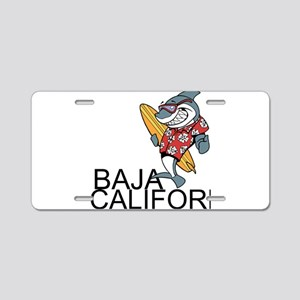 Baja California Aluminum License Plate