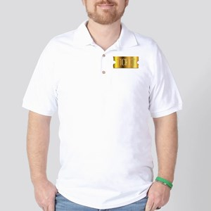 Simple Golden Ticket Golf Shirt