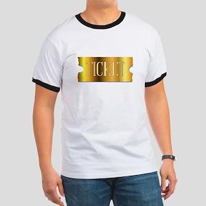 Simple Golden Ticket T-Shirt