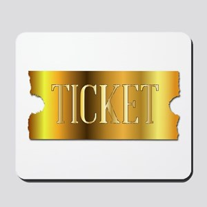 Simple Golden Ticket Mousepad