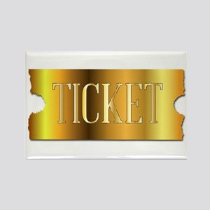Simple Golden Ticket Magnets