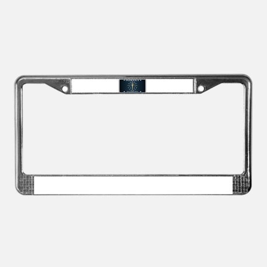 Indiana Flag License Plate License Plate Frame