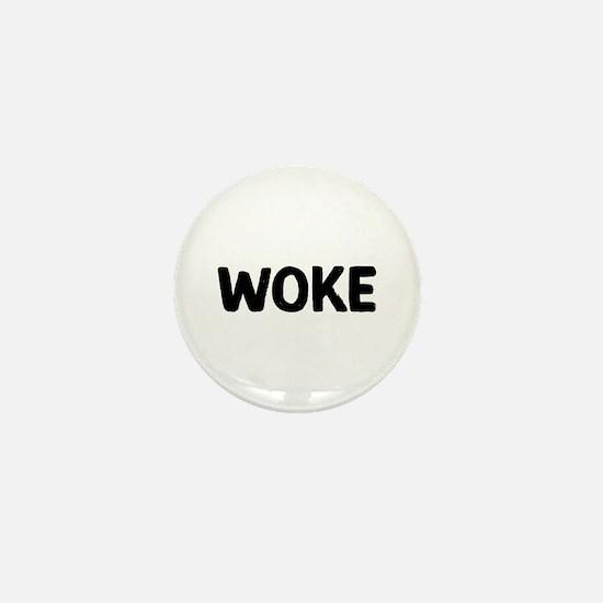 Woke Mini Button