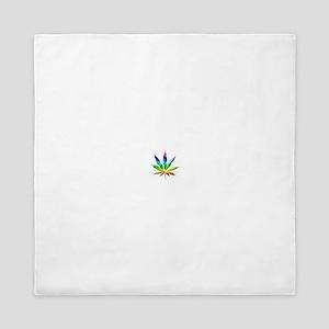 Rainbow Marijuana Queen Duvet