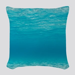 Underwater Woven Throw Pillow