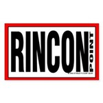 Rincon Point Rectangle Sticker