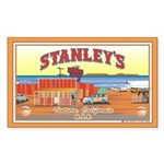 Stanley's Rectangle Sticker