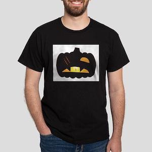 Halloween Jack O Lantern One Eyed T-Shirt