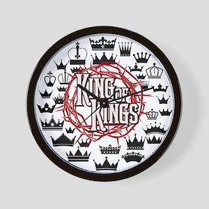 King of Kings Wall Clock