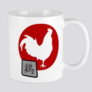 Asian Oriental Chinese Rooster Mug