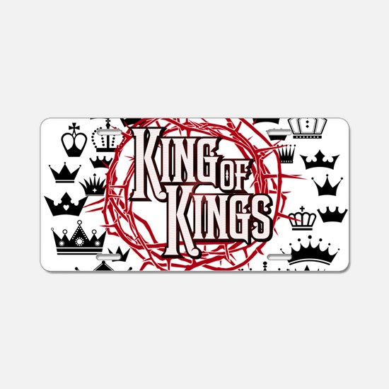 King of Kings Aluminum License Plate