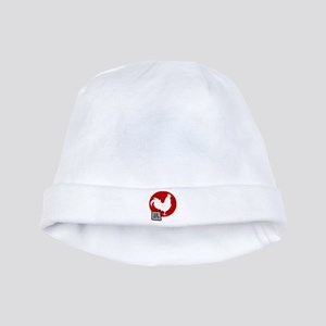 Asian Oriental Chinese Rooster baby hat