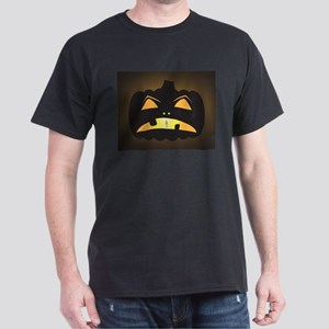 Halloween Sad Jack O Lantern T-Shirt