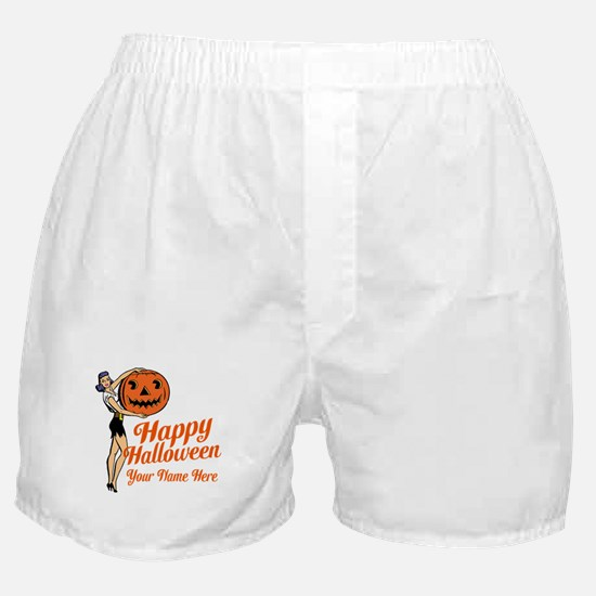 Pinup Halloween Boxer Shorts