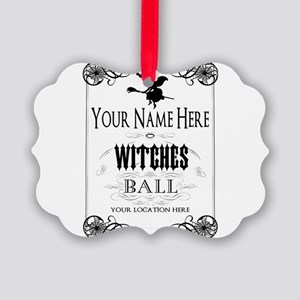 Witches Ball Ornament