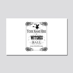 Witches Ball Car Magnet 20 x 12