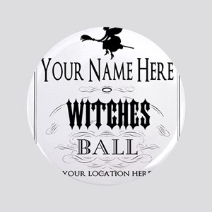 Witches Ball Button