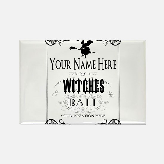 Witches Ball Magnets