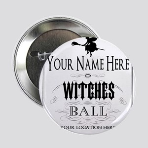 "Witches Ball 2.25"" Button"