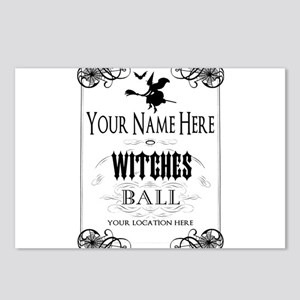 Witches Ball Postcards (Package of 8)