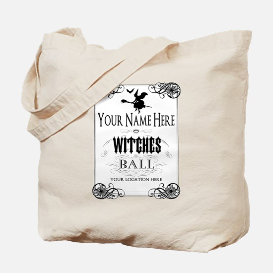 Witches Ball Tote Bag